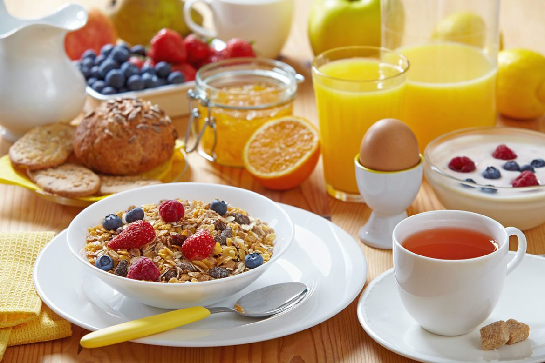 Frühstücksmöglichkeit im Restaurant Jagdhof, Flachau