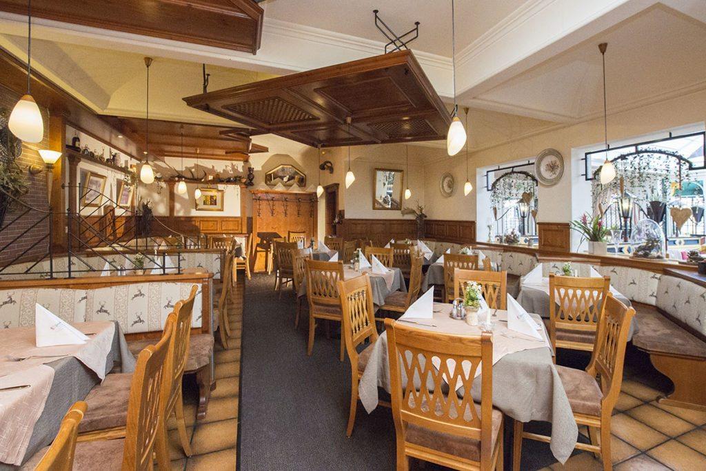 À la carte Restaurant Jagdhof in Flachau, Salzburg