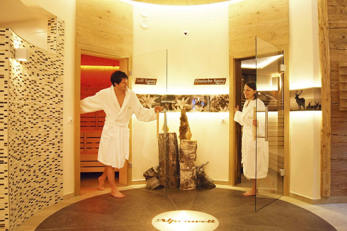 Wellnessoase im Hotel Alpenwelt in Flachau